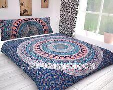 Queen Mandala Duvet Cover Set Cotton Quilt Cover Indian Hippie Blanket Cover