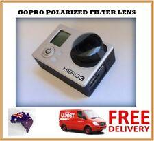 GoPro Hero 4 / 3+ / 3 Polarized Lens Filter - Polarizing Polarise PL Filter