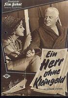 """IFB Illustrierte Film Bühne Nr. 05296 """" Ein Herr ohne Kleingeld """""""