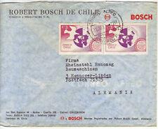 CHILE  Luftpostbrief  airmail cover 1972