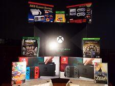 Ultimate Bundle! Xbox One X Scorpio,(2)Nintendo Switches,NES Classic,SNES Classi