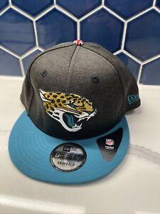 Jacksonville Jaguars Hat New Era 9Fifty Snapback London Cap Gray Black Teal