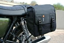 Triumph Thruxton Bonneville waterproof panniers luggage: Kriega DUO28 saddlebags