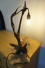 """Driftwood Lamp from Cornwall , """" Wind Surfing """""""