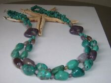 New listing Jay King Amethyst and Turquoise Necklace, Beautiful stones Nwot