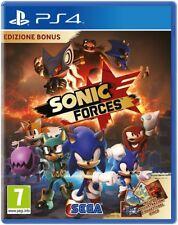 PS4 -- Sonic Forces -- Edizione Bonus -- NUOVO