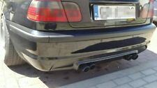 BMW 3 e46 m3 CSL style Rear lip diffuse for msport 2 mtech bumper