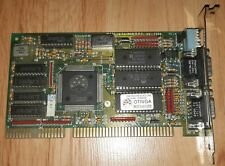 Oak 16 bit isa EGA/VGA combo video card from 1990