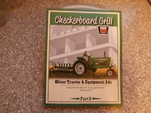 CHECKERBOARD GRILL Book-Oliver Tractor & Engine Ads-Part 2-Tim Putt-New-2015