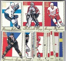1999-00 99-00 PACIFIC CROWN ROYALE INTERNATIONAL GLORY INSERT SET (25) ROY JAGR