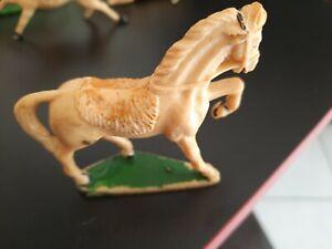 vintage STARLUX - Figurine  cheval Far West