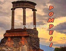 Italy - POMPEII RUINS - Travel Souvenir Flexible Fridge Magnet