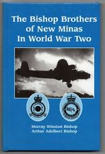 BISHOP BROTHERS OF NEW MINAS IN WORLD WAR TWO Murray Arthur WW2 RCAFSIGNED