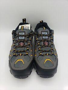 Skechers for Work Men's Blais Steel-Toe Hiking Shoe - Dark Gray - US 7