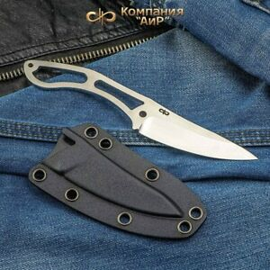Zlatoust A&R Neck knife 95x18 stainless steel Kydex sheath