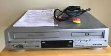 New listing Sansui Vcr / Dvd Combo Vhs Player Model Vrdvd4000 w/ Cables - No Remote