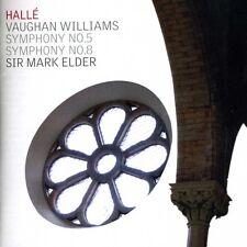 Mark Elder, Vaughan Williams, R. - Symphonies 5 & 8 [New CD]