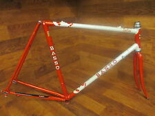 RARE VINTAGE BASSO LOTO COLUMBUS SLX STEEL LUGGED ROAD BIKE FRAMESET 56CM