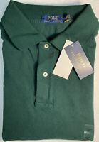 Polo Ralph Lauren Mesh Shirt Mens 2XLT Big & Tall Green W/Red Pony New With Tag!