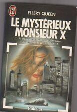 Le mystéieux Monsieur X - Ellery Queen - énigme policière . J'ai Lu 1986 .
