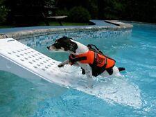 Pet Pool Safety Step Dog Skamper Ramp Swimming Puppy Escape Ladder Water Dock