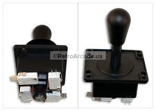 Happ American Competition Style Arcade Joystick BLACK 4/8 Way Elliptical Handle
