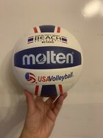 Molten Beach Outdoor Volleyball - BV5000R - US seller
