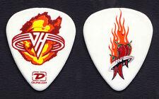 Van Halen Michael Anthony Flaming Logo Chili Pepper Guitar Pick - 2004 Tour