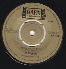 Northern Soul Earl Jean They're Jealous Of Me Colpix British  Original