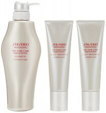 Shiseido adenovital shampoo 500 ml + scalp treatment (130 g × 2 sets)