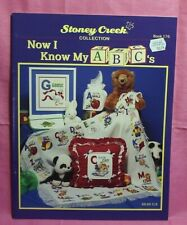 Stony Creek Collection Counted Cross Stitch Book # 176 - Now I Know My ABC's