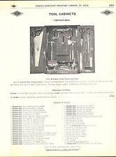 1910 ADVERT Diamond Edge 4 PG Bridge Toll Cabinets Box Case Norvell Shapleigh