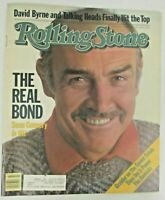 Rolling Stone Magazine October 27 1983 Sean Connery 007 James Bond Talking Heads