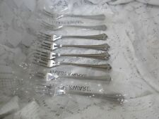 Farberware Stainless Indonesia ROMANCE  - Lot of 8 Seafood / Cocktail Forks