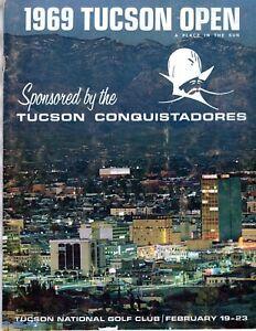 1969 TUCSON OPEN National Golf Club Conquistadores OFFICIAL PROGRAM GUIDE BOOK