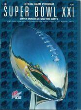 New York Giants Original Vintage NFL Programs