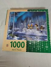 Masterpieces Puzzle Northern Lights Jigsaw Puzzle 1000 Pieces 30 x 24 Complete