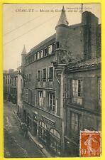 cpa 42 - CHARLIEU Maison du GUETTEUR dite des ANGLAIS English House CONFISERIE
