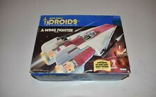 Vintage Kenner Star Wars Droids A-Wing Fighter Vehicle Box only 1985