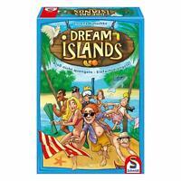 Schmidt Spiele Dream Islands, Familienspiel, Brettspiel, Kartenspiel 4 Spieler