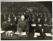Rodolfo Morandi, economista, politico e partigiano italiano Vintage silver print