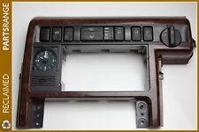 Land Range Rover P38 Walnut Main dash centre console surround trim panel RPi