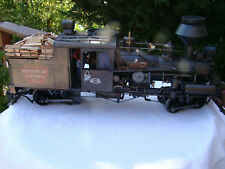 G scale Logging Heisler Locomotive - custom weathered - DCC Tsu Sound - Lot B