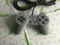 Sony PlayStation 1 Official Controller Tested & Working PS1 SCPH-1080 (t16)