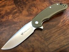 "Steel Will Knives CUTJACK C22-1OD - 3.5"" D2 - FRN OD Green - Authorized Dealer"