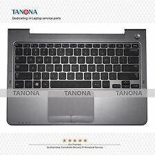 New Samsung NP535U3C NP530U3C NP530U3B US Palmrest KB Bezel Touchpad BA75-03711F