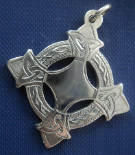 Irish Silver Limerick Gaelic Football Celtic Fob Medal - Dublin 1971 Clochan