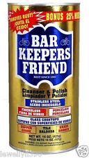 Bar Keeper's Friend Cleanser & Polish for Stainless Steel 15 oz   NEW