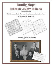 Family Maps Johnson County Indiana Genealogy IN Plat