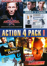 ACTION 4 PACK ARCHANGEL ORDER OF CHAOS KILL YOUR DARLINGS FINAL ENGAGEMENT DVD